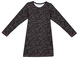 Dim Girl's Chemise De Nuit Nightie, (Black 02), (Size: 16A)