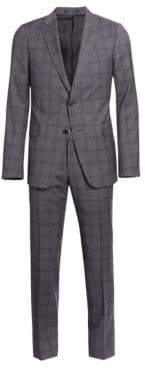 Ermenegildo Zegna Wool Plaid Suit