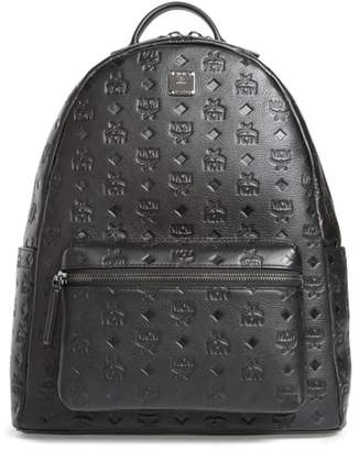 MCM Ottomar Leather Backpack