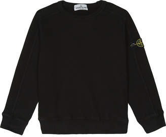 Stone Island Branded cotton jumper 4-14 years $95 thestylecure.com