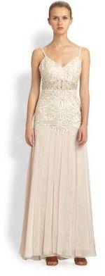 Sue Wong Carwash Panel Gown