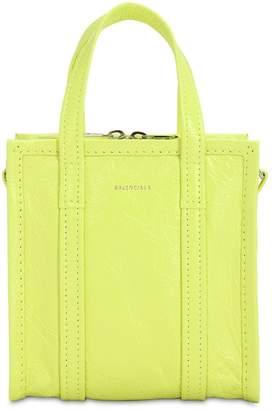 Balenciaga Xxs Bazaar Leather Tote Bag