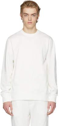 Y-3 White Classic Logo Sweatshirt