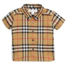 Burberry Baby Boy's& Little Boy's Fred Button-Up Shirt