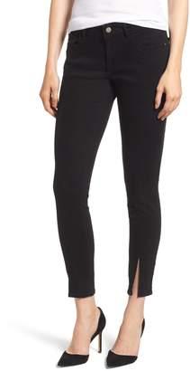 DL1961 Margaux Instasculpt Slit Hem Ankle Skinny Jeans