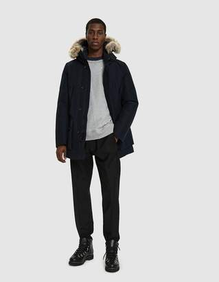 Woolrich GTX Arctic Down Parka in Navy Melton