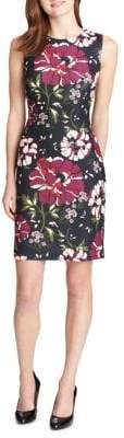 Tommy Hilfiger Folk Floral-Print Sheath Dress