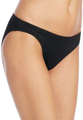 VINCE CAMUTO Weave Texture Classic Bikini Bottom $48 thestylecure.com