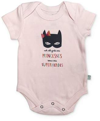 Finn & Emma Girls' Superhero Bodysuit - Baby