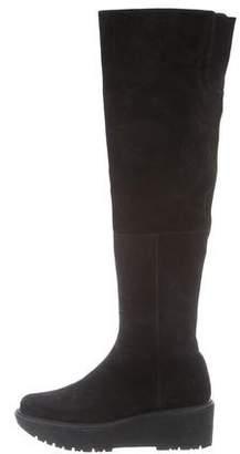 Stuart Weitzman Suede Over-The-Knee-Boots