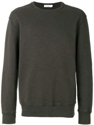 Jil Sander distressed finish sweatshirt