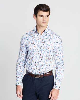 Pierre Cardin Slim Fit Floral Shirt