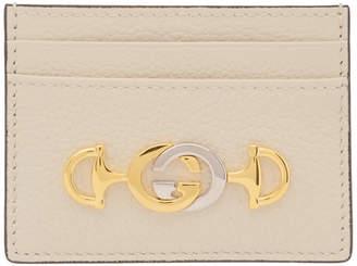 Gucci Off-White Zumi Card Holder