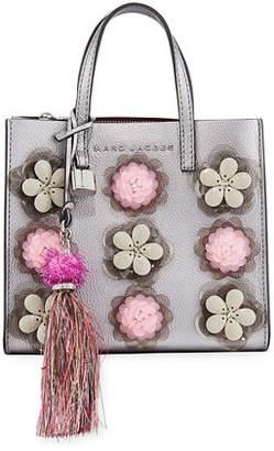 Marc Jacobs The Grind Flower Embellished Tote Bag