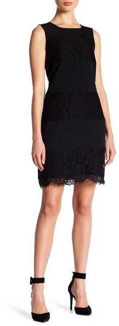 Anne Klein Anne Klein Lace Shift Dress