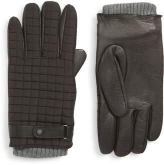 Ted Baker Quilted Leather Gloves
