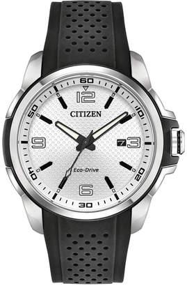 Citizen Drive From Eco-Drive Men's Black Polyurethane Strap Watch 45mm