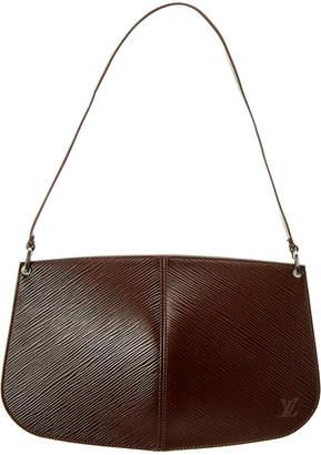Louis Vuitton Mocha Epi Leather Demi Lune Pochette Accessoires