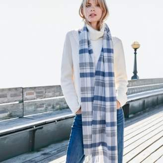 The White Company Wool-Cashmere Extra Long Scarf