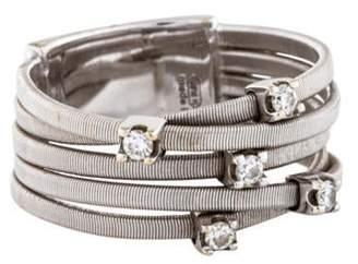 Marco Bicego 18K Diamond Goa Five Row Ring white 18K Diamond Goa Five Row Ring