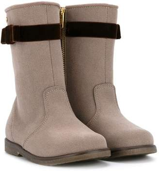 Mikihouse Miki House zip fastening boots