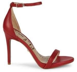 Sam Edelman Ariella Leather d'Orsay High Heel Sandals
