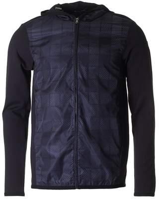 Aquascutum London Harrold Printed Front Hood Nylon Jacket