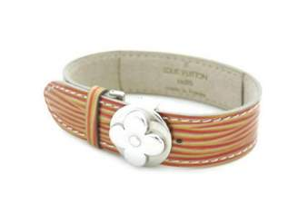 Louis Vuitton Brown Leather Bracelets