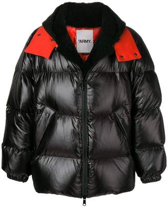 Yves Salomon Army oversized shearling down jacket
