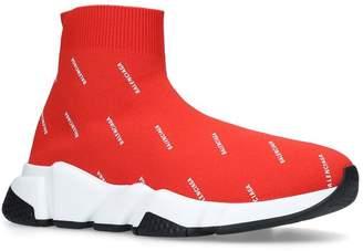 Balenciaga Speed Mid-Top Logo Sneakers