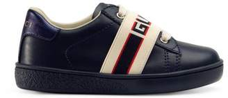 Gucci Toddler Ace sneaker with stripe