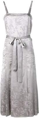 Bottega Veneta floral jacquard dress