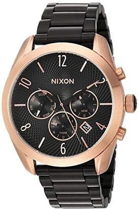 Nixon Women's 'Bullet Chrono' Quartz Metal and Stainless Steel Watch