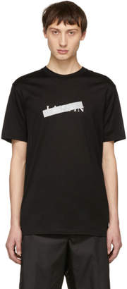 Lanvin Black Anti-Logo T-Shirt