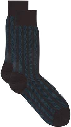 Dore Dore Merino Wool Patterned Socks