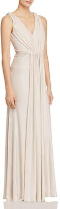 Adrianna Papell Textured Goddess Gown - 100% Exclusive