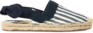 Ralph Lauren Striped Canvas Espadrille