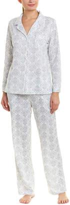 Carole Hochman Carol Hochman 2Pc Pajama Pant Set