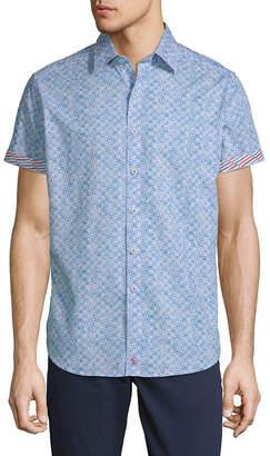 Robert Graham Erby Short-Sleeve Button-Down Shirt