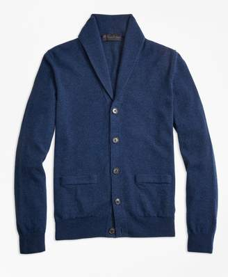 Brooks Brothers Cashmere Shawl-Collar Cardigan