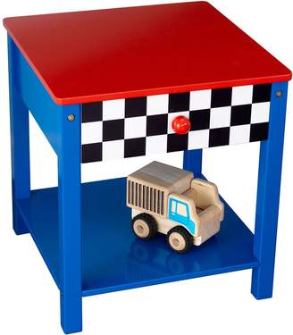Kid Kraft Racecar Side Table