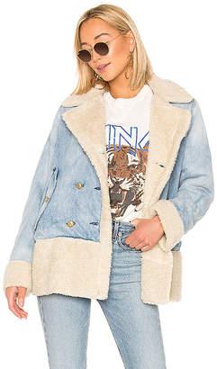 McGuire Denim Campo Faux Fur Jacket.