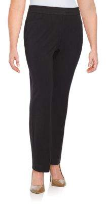 Rafaella Plus Curvy Slim-Leg Dress Pants