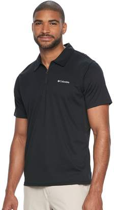 Columbia Men's Cool Coil Classic-Fit Quarter-Zip Polo