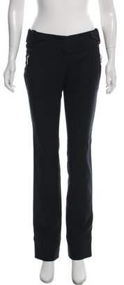 Christian Dior Low-Rise Straight-Leg Pants