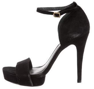 Tory Burch Platform Ankle-Strap Sandals