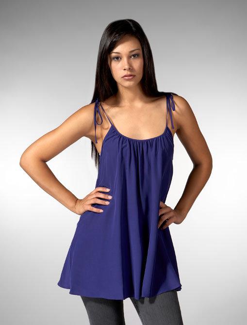 Jenni Kayne Silk Tie Tank