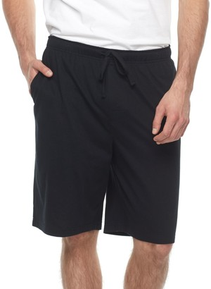 Croft & Barrow Big & Tall Solid Knit Jams Shorts