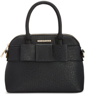 Rampage Dome Satchel With Bow $78 thestylecure.com