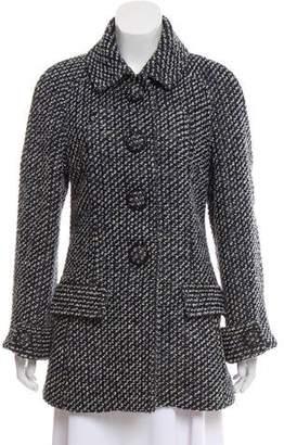 Chanel Short Tweed Coat